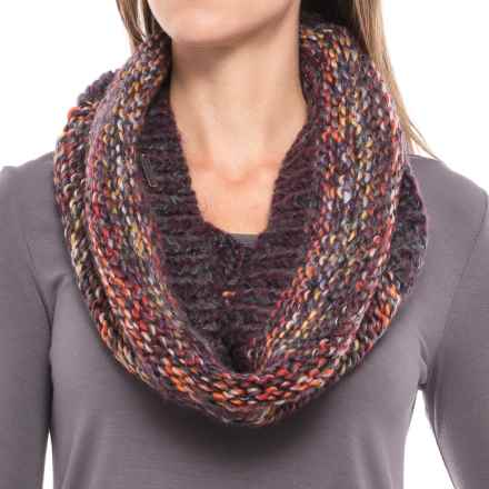 Screamer Chellene Handknit Infinity Scarf - Wool Blend (For Women) in Eggplant - Closeouts