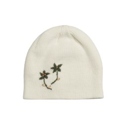 Screamer Eden Beanie Hat (For Women) in White