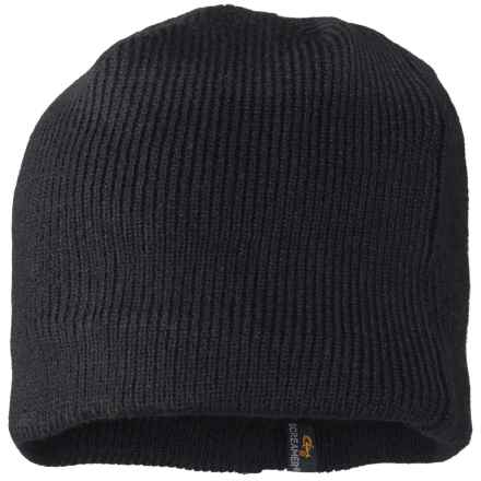 Screamer Fleece-Lined Knit Beanie (For Men) in Black - Closeouts