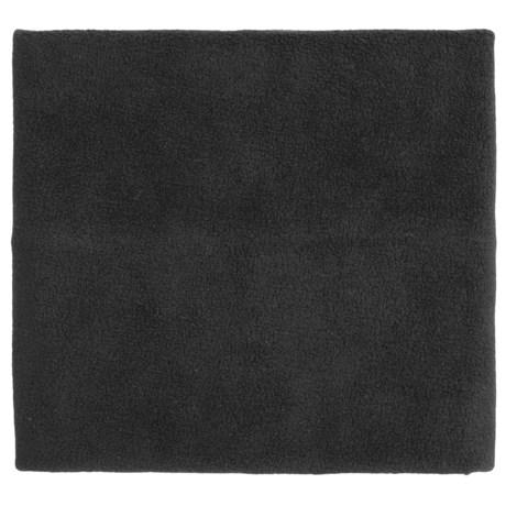 Screamer Fleece Neck Gaiter (For Kids) in Black