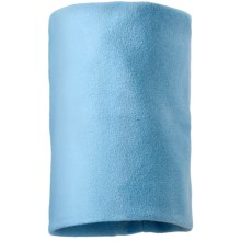 Screamer Fleece Neck Gaiter (For Little and Big Kids) in Powder Blue - Closeouts