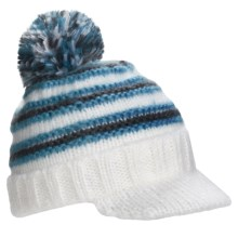 Screamer Harmony Billed Beanie Hat (For Women) in Blue - Closeouts