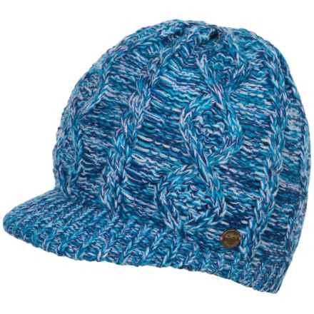 Screamer Manhattan Billed Beanie (For Women) in Blue - Closeouts