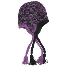 Screamer Misty Beanie Hat - Ear Flaps (For Women) in Lavender - Closeouts