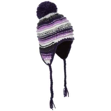 Screamer Nikka Ridge Beanie - Ear Flaps (For Women) in Purple Passion - Closeouts