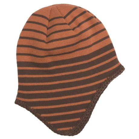 Screamer Peter Beanie Hat (For Men) in Brown