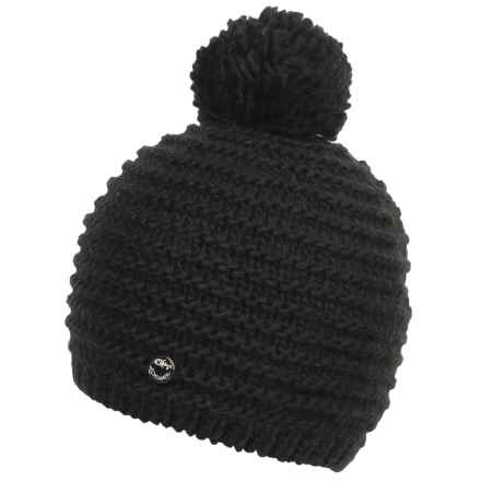 Screamer Rachel Beanie - Wool Blend (For Women) in Black - Closeouts