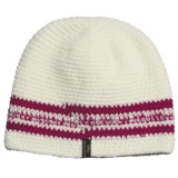 Screamer Sapphire Beanie Hat (For Women)