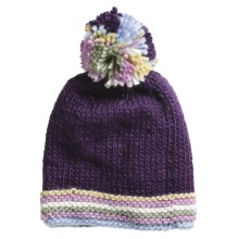 Screamer Shelby Beanie Hat (For Women) in Eggplant - Closeouts