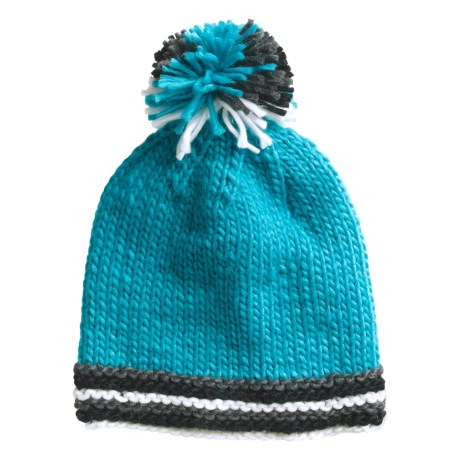 Screamer Shelby Beanie Hat (For Women) in Teal