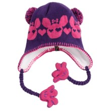Screamer Sookie Beanie Hat (For Kids) in Violet/Bright Rose - Closeouts