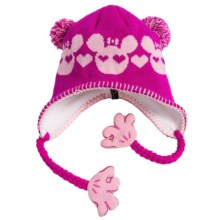 Screamer Sookie Beanie Hat (For Little and Big Kids) in Fuchsia/Pink - Closeouts