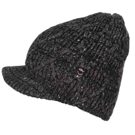 b71605c6bd3 Screamer Valencia Billed Beanie (For Women) in Black