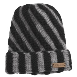 Screamer Vanessa Beanie Hat (For Women) in Black/Grey