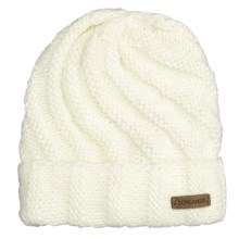 Screamer Vanessa Beanie Hat (For Women) in White - Closeouts