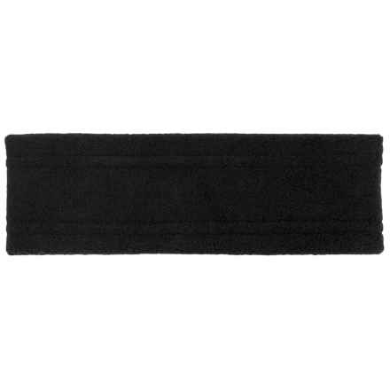 Screamer Wide Fleece Headband (For Kids) in Black - Closeouts