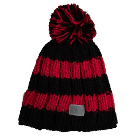 aa87ffc63c Screamer Youth Shine Pom Hat - Fleece Lined (For Kids) in Red - Closeouts