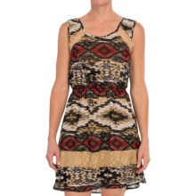 Scully Aztec Print Dress - Sleeveless (For Women) in Multi - Closeouts