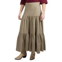 Scully Cantina Western Skirt - Peruvian Pima Cotton (For Women) in Olive - Closeouts
