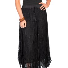 Scully Crocheted Skirt (For Women) in Black - Closeouts