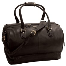 Scully Hidesign Calf Leather Duffel Bag in Brown - Closeouts