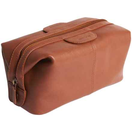 Scully Hidesign Leather Shave Kit in Tan - Closeouts