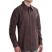 Scully Lifestyle Polynosic Shirt - Long Sleeve (For Men) in Merlot - Closeouts
