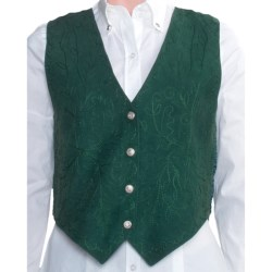 Scully Suede Vest (For Women) in Spruce Boar Suede