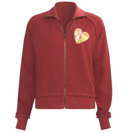 Scully Sweat Suit Jacket (For Women) in Red