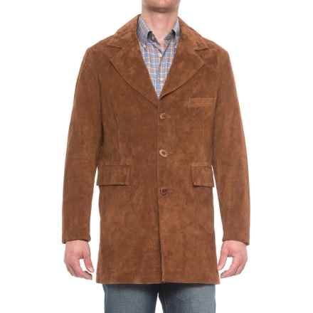 Scully Traditional Suede Blazer (For Men) in Cinnamon - Closeouts