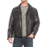 Scully Zip-Front Leather Jacket (For Men)