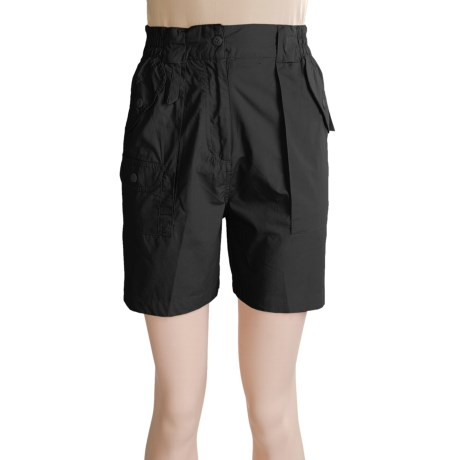 Sea Harbour Bermuda Lite Fishing Shorts (For Women) in Black