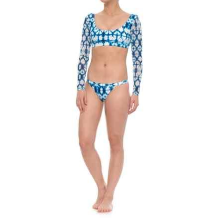 Sea Level Kanolo Dye Rash Guard Set - 2-Piece, Long Sleeve (For Women) in Dye - Closeouts
