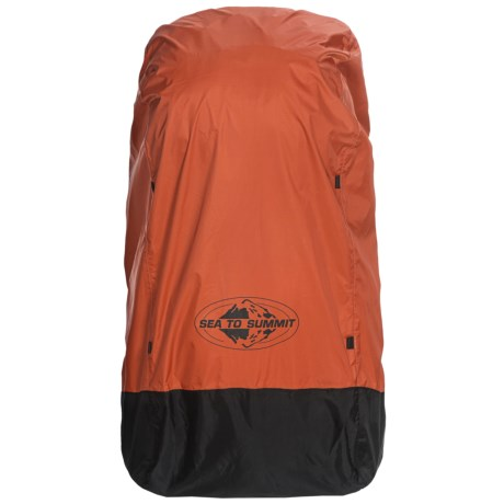 Sea to Summit 30-50L Pack Cover - Small in Outback Red