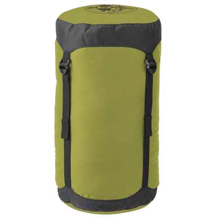 Sea to Summit 30L Compression Sack - X-Large in Olive Green - Closeouts