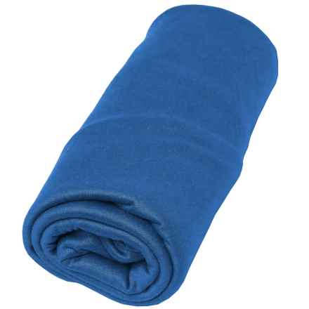 Sea To Summit Pocket Towel - Small in Cobalt Blue - Closeouts