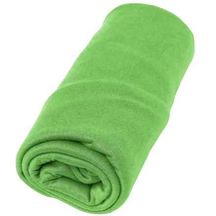 Sea To Summit Pocket Towel - Small in Lime - Closeouts