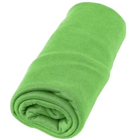 Sea To Summit Pocket Towel - Small in Lime