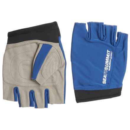 Sea To Summit Sea to Summit Solution Eclipse Paddle Gloves - UPF 50+ (For Men and Women) in Blue - Closeouts