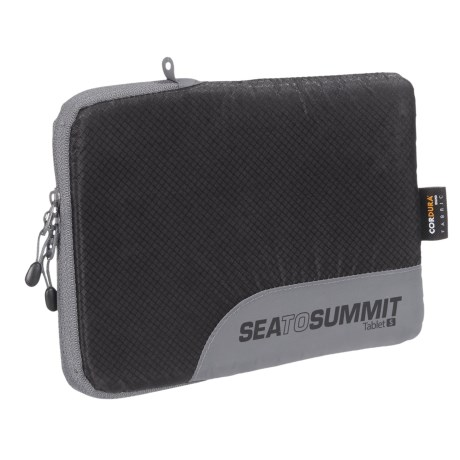 Sea To Summit Sea to Summit Traveling Light Tablet Sleeve - Small in Black