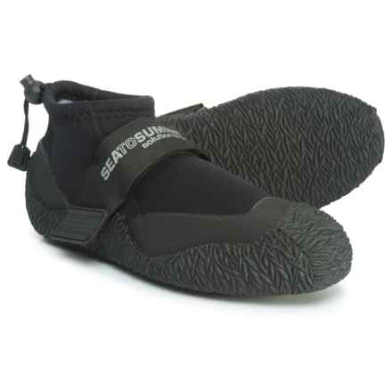 Sea to Summit Solution Bomber Booties (For Men) in Black - Closeouts