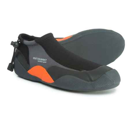Sea to Summit Solution Flex Booties (For Men) in Black/Orange/Grey - Closeouts