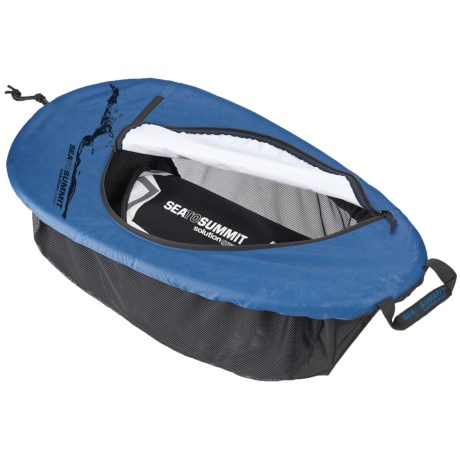 Sea to Summit Solution Gear Trip Kayak Cockpit Cover in Black