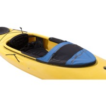 Sea to Summit Solution Sun Deck Kayak Cockpit Cover in Blue/Black - Closeouts