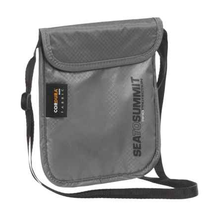 Sea to Summit Traveling Light RFID Passport Pouch in See Photo - Closeouts
