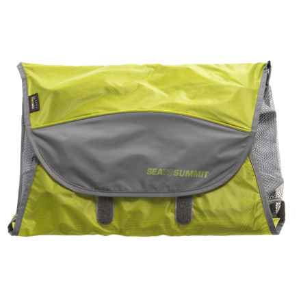 Sea To Summit Traveling Light Shirt Folder - Small in Lime Green - Closeouts