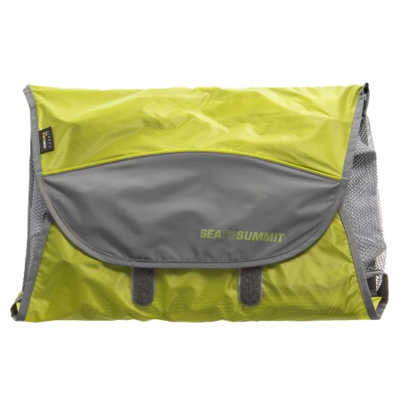 Sea To Summit Traveling Light Shirt Folder - Small in Lime Green
