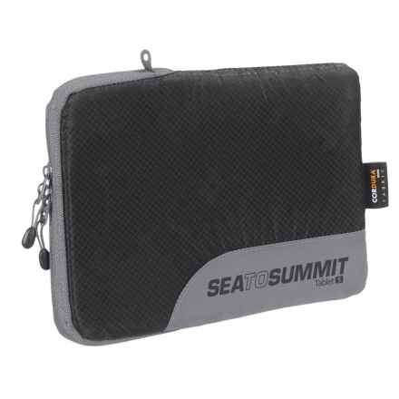 Sea to Summit Traveling Light Tablet Sleeve - Small in Black - Closeouts