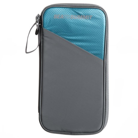 Sea To Summit Traveling Light Travel Wallet in Pacific Blue