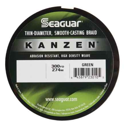 Seaguar Kanzen Braided Fishing Line - 300 Yards in Green - Closeouts